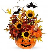 Flower Bouquets: Perfectly Pumpkin Bouquet