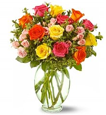 Roses: Happiness Rose Bouquet